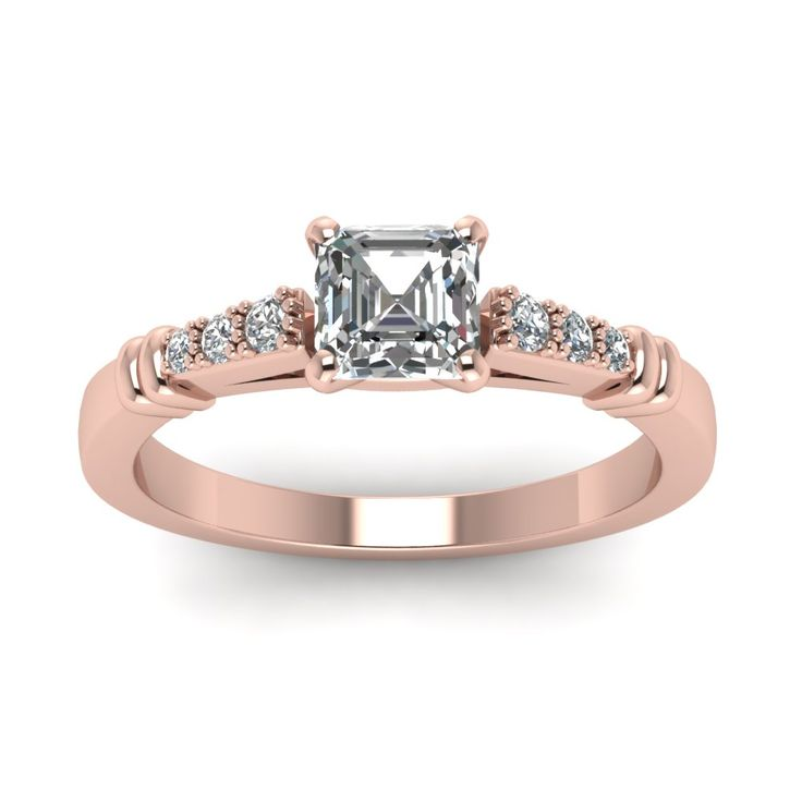17 best images about square cut engagement rings on