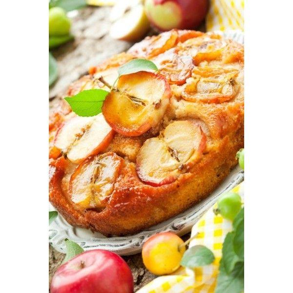 Postcard The apple pie