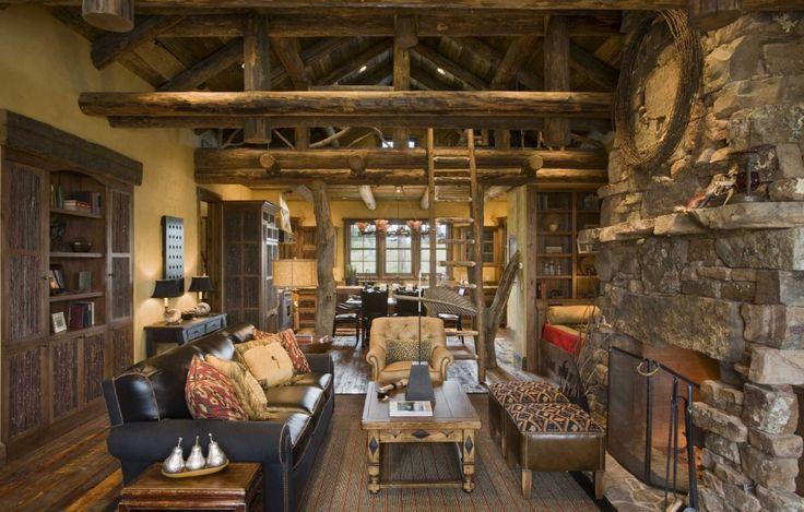The Extraordinary Homestead Ranch | Montana | Rustic house ...