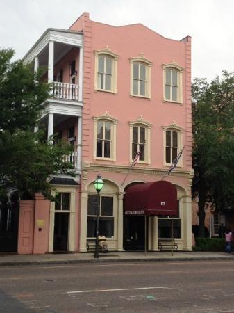 Meeting Street Inn in Charleston, SC.  Where we were married.