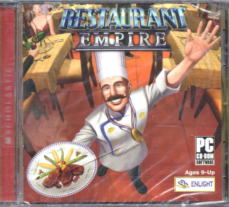 Restaurant Empire - PC Game - Sealed New - Ages 9 Up - Win 98/XP - Scholastic. by riverbottomrecords on Etsy