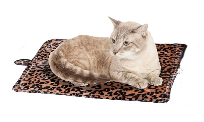 Purrfect Thermal Self-Heating Pet Bed  :