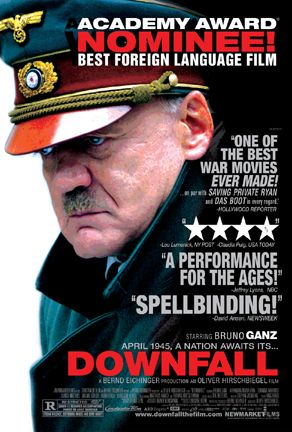 a review of the movie downfall der untergang by oliver hirschbiegel Der untergang: bruno ganz noethen, oliver hirschbiegel were both very good but this movie puts them in the dust given downfall is all in german and so.