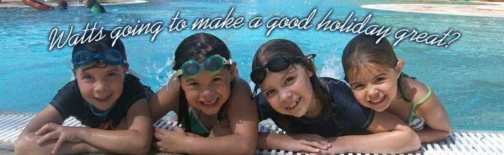 BIG4 Ballarat Goldfields Holiday Park - Kids On Pool Edge
