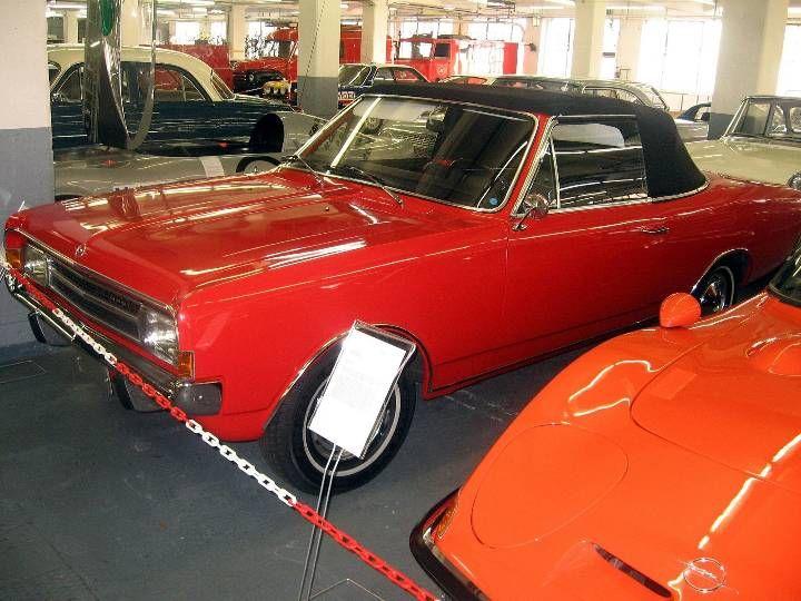 Opel Record Cabriolet, Opel museum Russelsheim