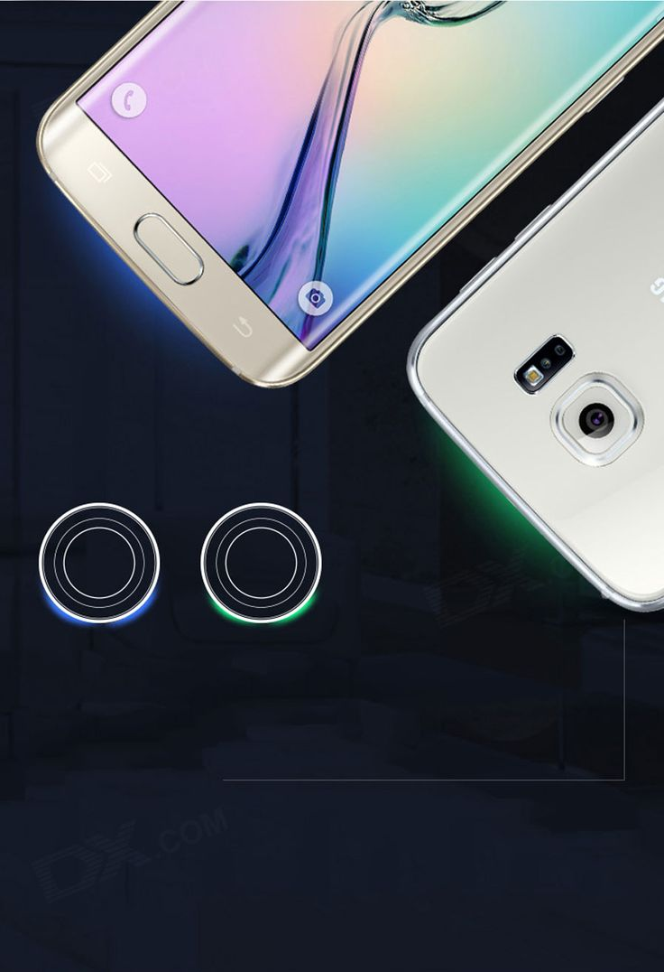 QI Wireless Charging Pad for Samsung Galaxy S6/S6 Edge/Nexus 6 - Black - Free Shipping - DealExtreme