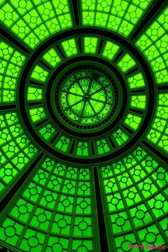 green above! inspiration for #green #gems