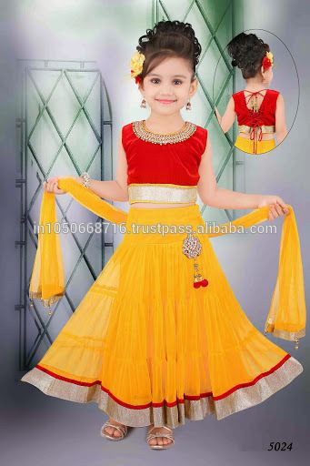 Girls Lehenga Choli Designs for Weddings/Parties