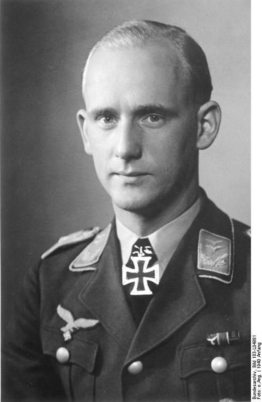 ✠ Herbert Schmidt (3 October 1912 – 16 June 1944) shot by a French sniper.
