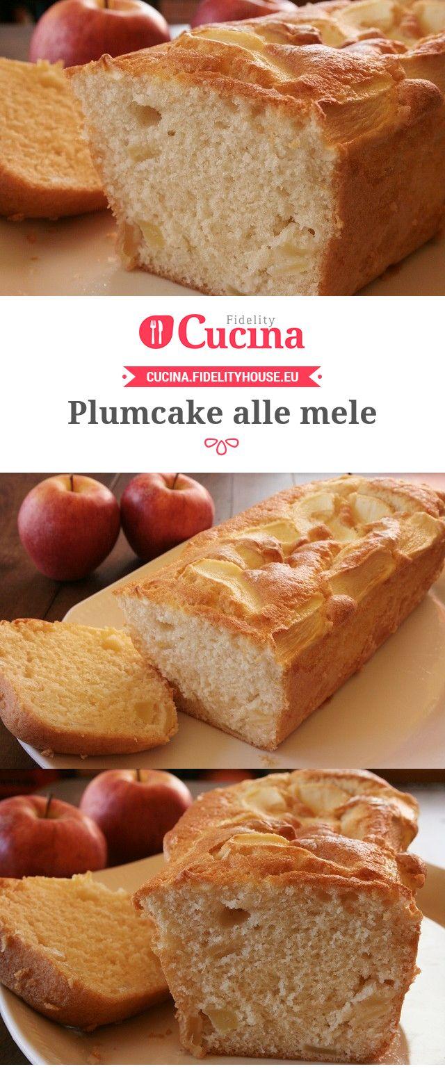 #Plumcake alle #mele della nostra utente Sanny. Unisciti alla nostra Community ed invia le tue ricette!