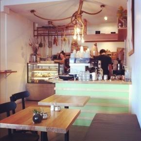 Cafe, interior Grassy Knoll