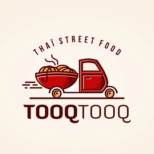 new logo for our thaa food truck