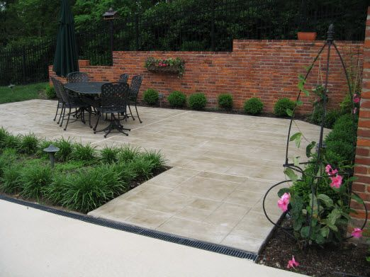16 best stamped concrete patterns colors styles images on