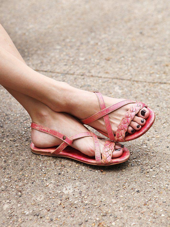 OMG I WANT THESE SOOOOOOO BAD!!!!!! Bed   Stu + Free People Kelsey Braided Sandal