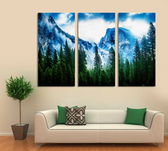 3 Panel Split Abstract World Map Canvas Print1 5 Deep Etsy Wall Art Canvas Prints Wall Art Prints World Map Canvas