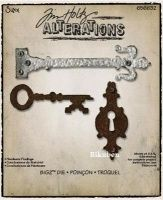 Bilde av produkt: Tim Holtz Alterations: Bigz Die - Hardware Findings