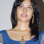 Bindu Madhavi in South Sea Pearls Mala