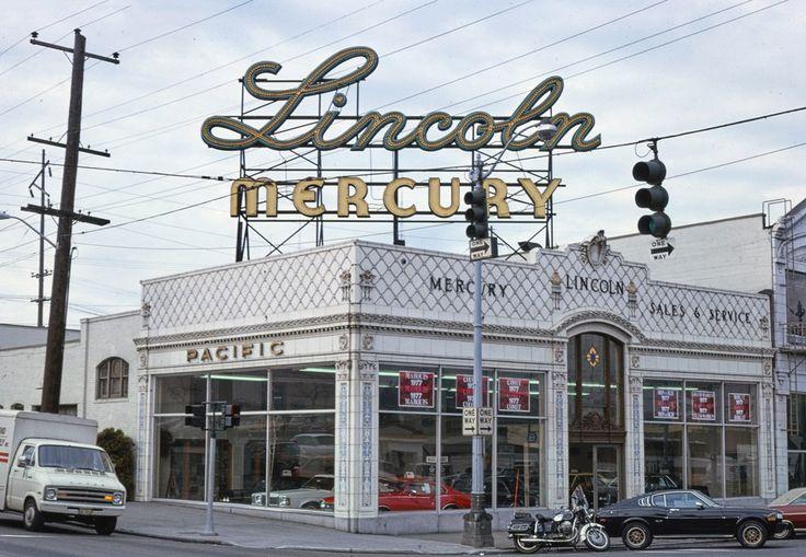 McKay Lincoln Mercury. Seattle, WA. (1977) x over it
