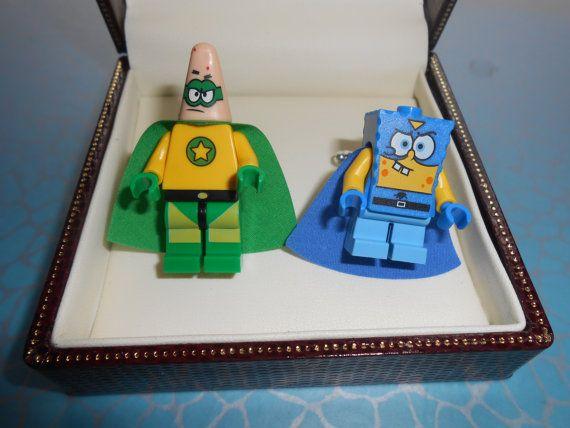 Hand Made Sponge Bob Square Pants HEROS par CristinasQuirkyCraft, £23.45
