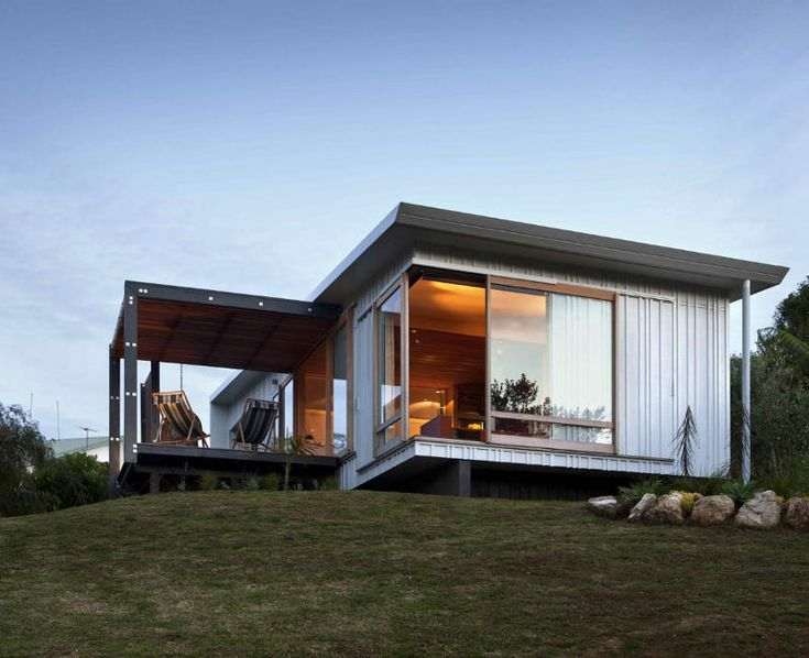 Desire to inspire little beach for Modern new zealand homes