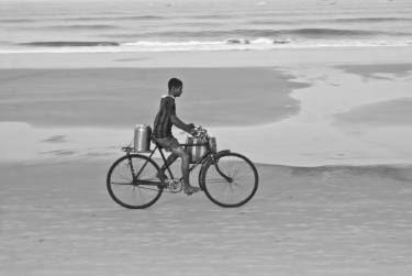 "Saatchi Art Artist Subhrajyoti Parida; Photography, ""The tea seller"" #art"
