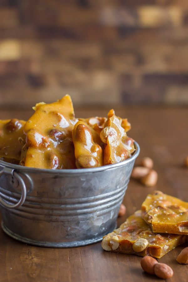 How To Make Peanut Brittle in the Microwave - My mom's peanut brittle recipe...you can make it in the microwave in less than 10 minutes!