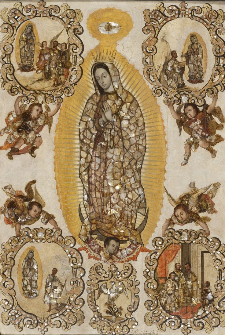 New Acquisition: Miguel Gonzalez, Virgin of Guadalupe. LACMA website.