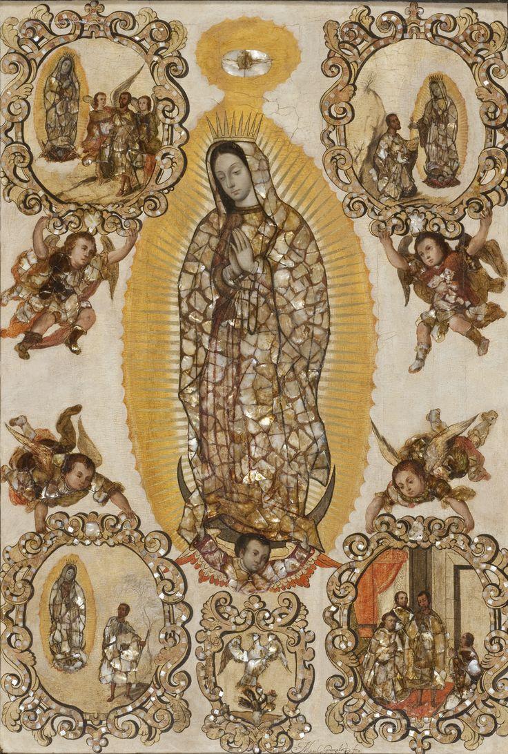 New Acquisition: Miguel Gonzalez, Virgin of Guadalupe. LACMA website.