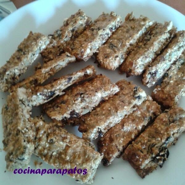 BARRITAS DE CEREALES (Thermomix)