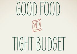 Download the 'Good Food on a Tight Budget' Shopping Guide  [PDF]