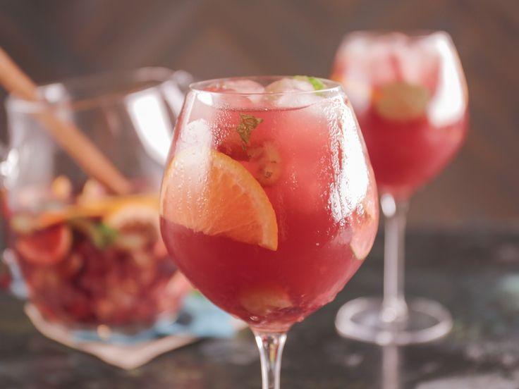 Fresh Grape Sangria recipe from Bobby Flay via Food Network