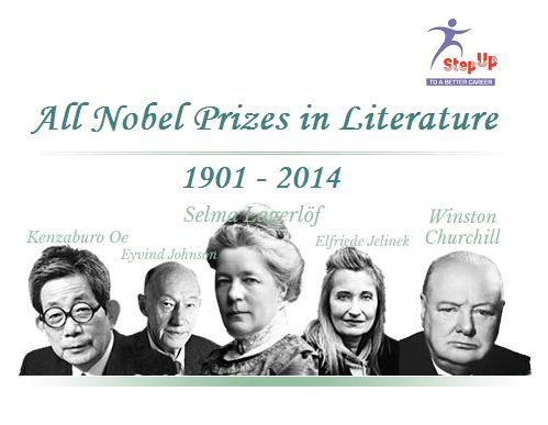 All Nobel Prizes in Literature has been awarded 107 times to 111 Nobel Laureates between 1901 and 2014.  Click on the links to get more information. http://bit.ly/1vVPrz1