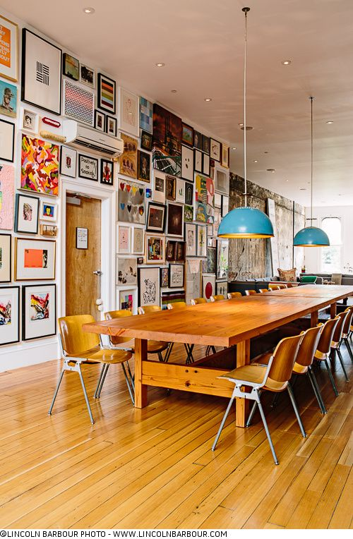 Perfect workspace! Thomas Lauderdale's House - Portland, OR