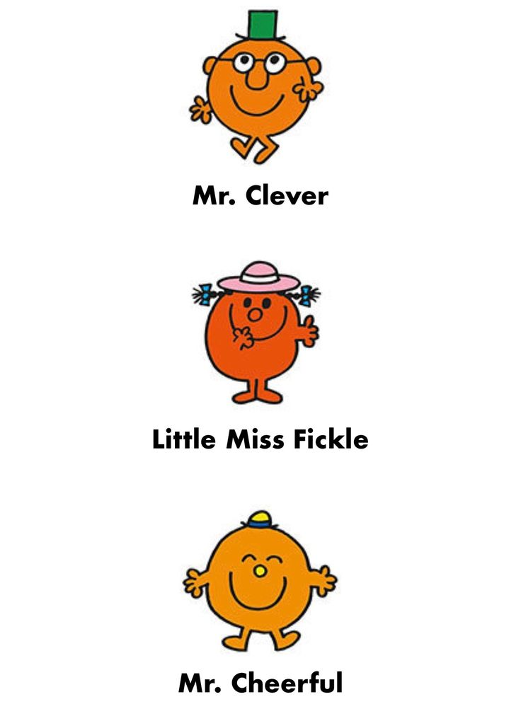 Mr Clever, Little Miss Fickle & Mr