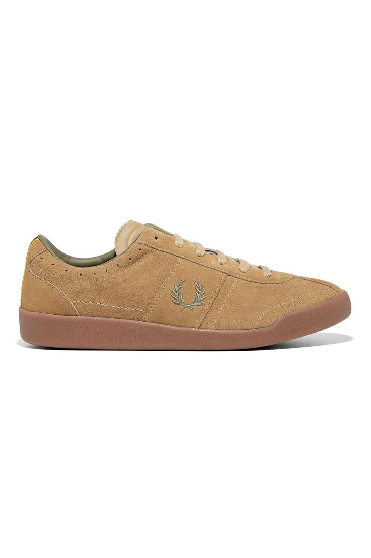 Fred Perry - Bradley Wiggins Stockport Suede Camel