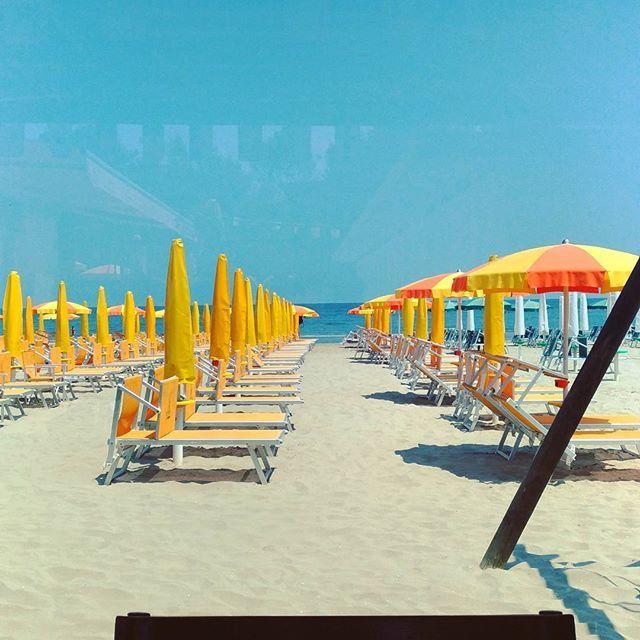20170531_Primo giorno di mare  Pace e tranquillità 😎  #beach #romagna #riviera