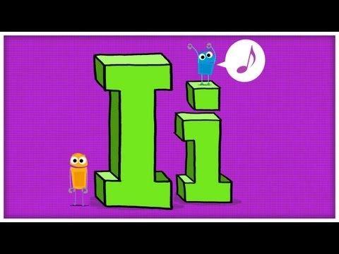 ABC Song: The Letter I  #Education #Kids #Alphabet #Language #ABC