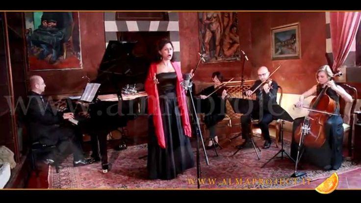 ALMA PROJECT - Piano, String Trio & Soprano AA - I' Te Vurrìa Vasa (Russo-Di Capua)