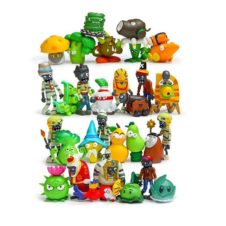 30pcs Plants Zombies Toy PVC Plant vs Zombies Action Figures Dolls 3-6cm #Affiliate