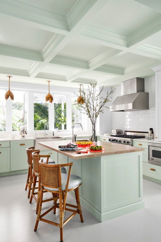 Stylish Kitchen Color Ideas To Lift Your Cooking Mood Stylish Kitchen Color Ideas Painted Kitchen Cabinets Colors Kitchen Cabinet Colors Kitchen Colors