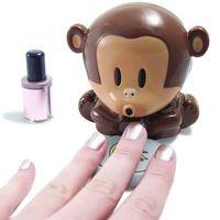 sıcak satış yeni sevimli maymun el tırnak sanat ipuçları lehçe kurutma fanı manicure#l0192625