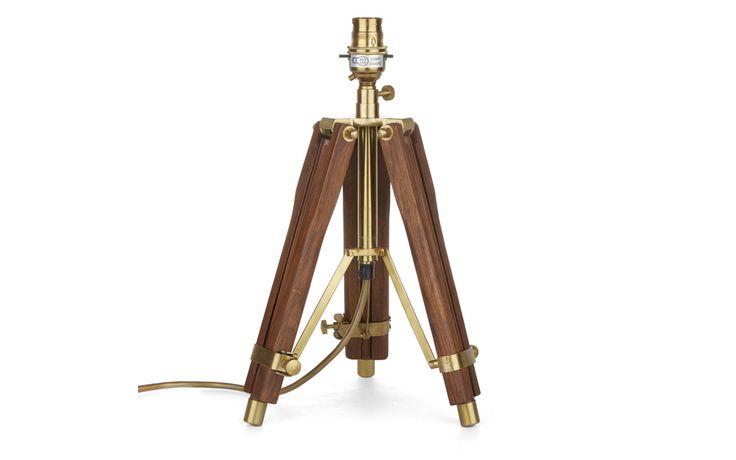 Abinger Dark Tripod Lamp Base