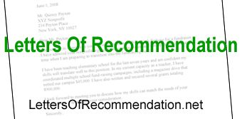 Letter of recommendation templates and tips on writing letters of recommendation. Several different types of letters