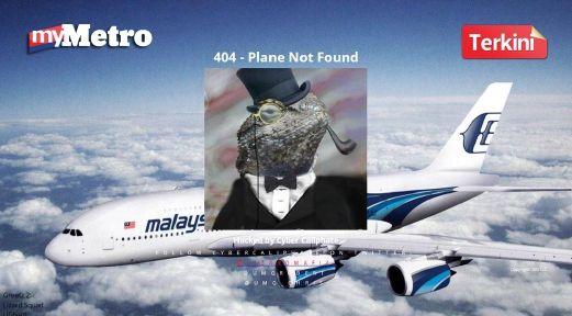 Penggodam Lizard Squad ugut dedahkan maklumat  Hong Kong: Penggodam yang menceroboh laman web Malaysia Airlines (MAS) pagi tadi mengugut untuk mendedahkan maklumat yang dicuri...