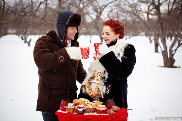 зимняя свадьба #wedding #winter #decor #red