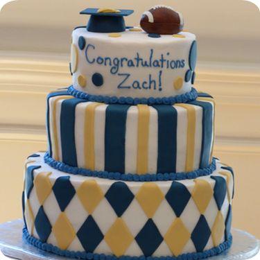 W B Ray High School Graduation Cakes