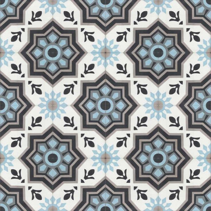 Moroccan Encaustic Cement Pattern 11a