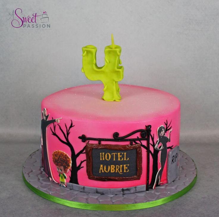 Hotel Transylvania Cake | A Sweet Passion
