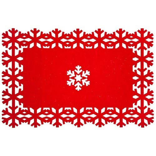 Christmas Felt Placemat | Poundland