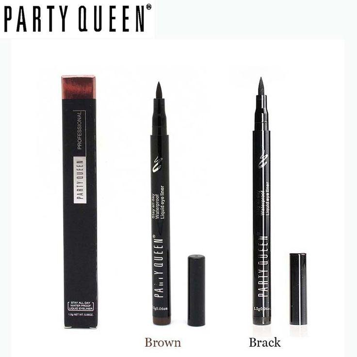 Marke Party Queen Bilden Sehr scharf Wasserdicht eyeliner langlebige Flüssige augen-zwischenlage Schönheit Kosmetische eyeliner bleistift